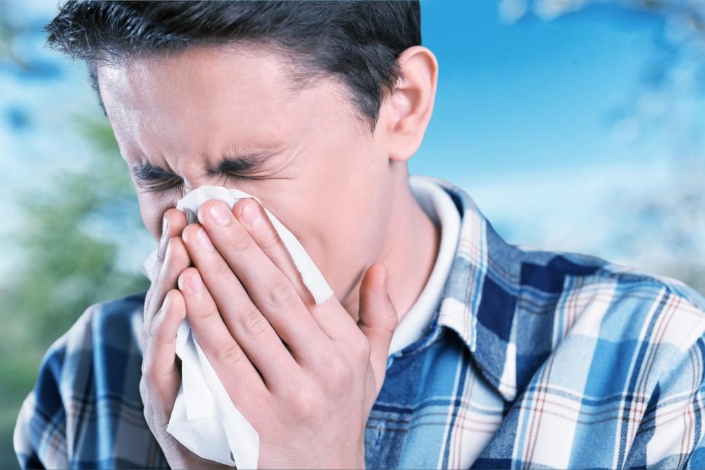 having a flu