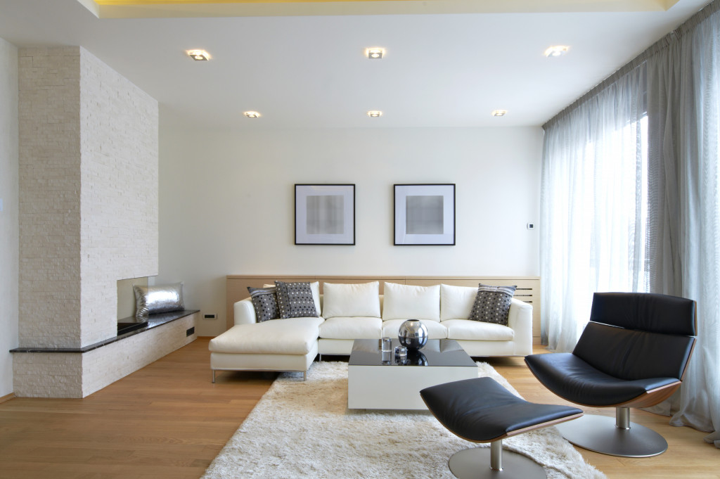 large living room space